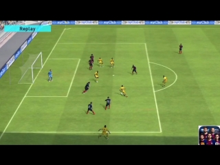 Neymar Jr. PES18 Mobile - skill