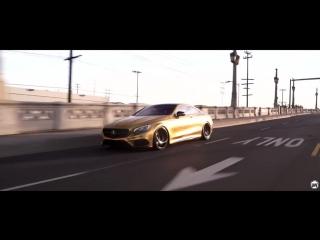 Mercedes Benz S550 Gold Chrome