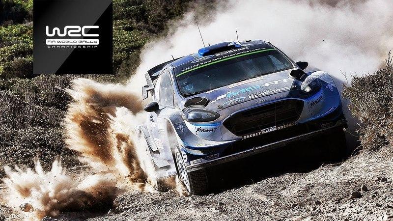 Ott Tänak Winner Rally Italia Sardegna 2017