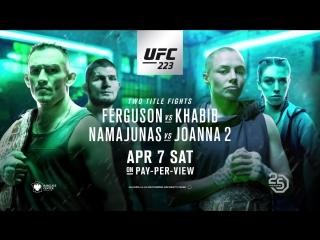 UFC 223: Нурмагомедов - Фергюсон. Официальный трейлер
