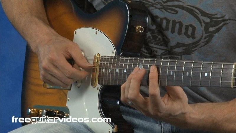 E Funk Licks Guitar Lesson
