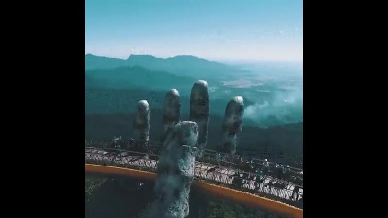 Золотой мост, Да Нанг, Вьетнам.