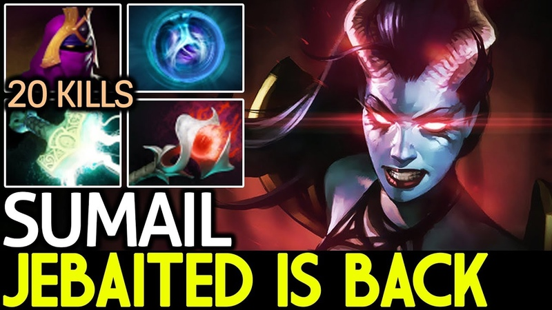 SumaiL [Queen of Pain] Jabaited is Back 7.18 Dota 2