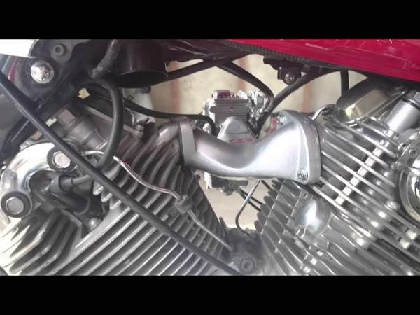 KJS Single Intake Maninfold System Mikuni Flat Side xv1100