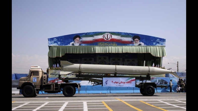 Iran showcases DEVASTATING new missiles in huge display World War 3 FEARS Down with USA