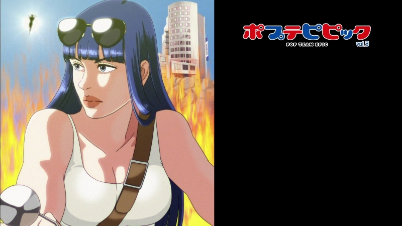 Blu ray Menu 03 Poputepipikku Попсовый эпос Pop Team Epic