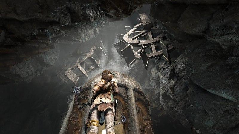 Rise of the Tomb Raider (гробницы: Советская база) №3: Древняя цистерна