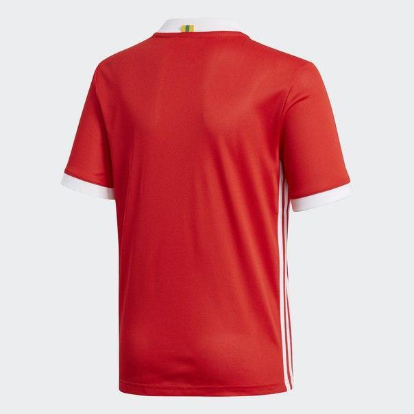 Домашняя игровая футболка сборной Уэльса