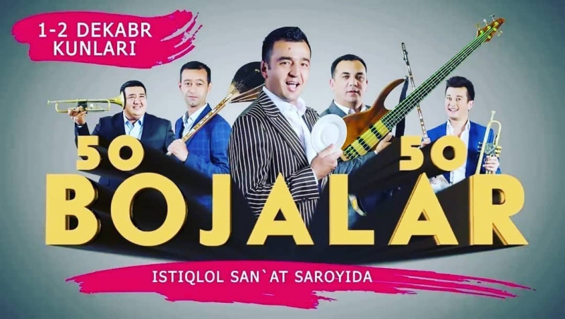 Bojalar SHOU 2017 - 50 kulgu 50 qo'shiq nomli konsert dasturi