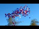 пускание шариков__празднование д.Победы в Мурино