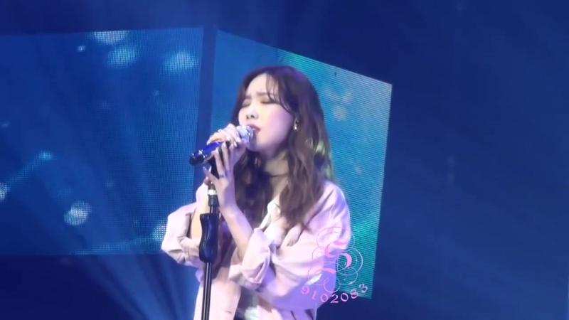 Taeyeon (태연) - Fine (180421 Best Of Best Concert in Taipei)