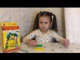Объёмная картина из пластилина. Лепим дома. Развиваем мелкую моторику. Морковка и груша. Для детей от трёх лет.