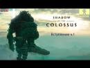 Shadow of the Colossus Прохождение Стрим - Первый Колосс 1