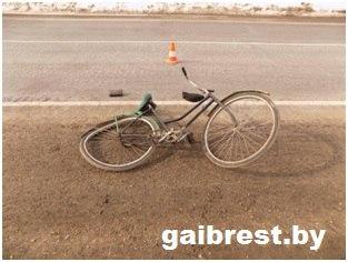 Струдники ГАИ задержали водителя, который сбил велосипедиста и скрылся с места ДТП