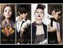 2NE1's US/American Debut (6 songs in 1)