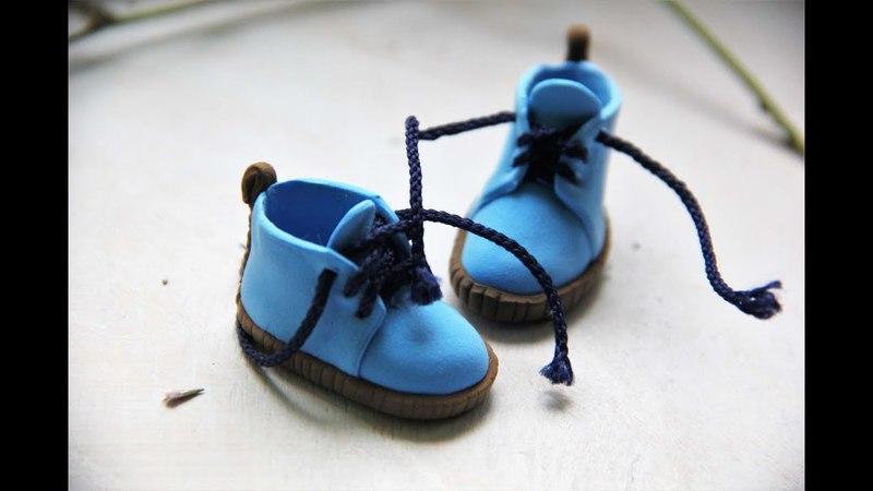Кукольная обувь без выкройки Самый простой способ