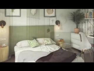 Дизайн 2-хкомнатной квартиры 54 кв. м для молодой семьи с детьми