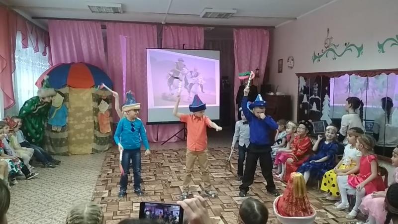танец наездников