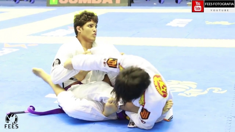 Jiu Jitsu - FABRICIO ANDREY X MATHEUS YUDI - SÃO PAULO BJJ PRO - 2018