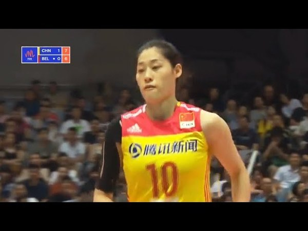 China v Belgium — Full Highlights | 2018 Volleyball Nations League Women's