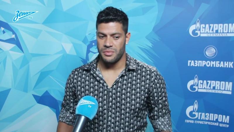 [Zenit Football Club] Халк на «Зенит-ТВ»: «Надеюсь, я смогу вернуться в Петербург — возможно, даже в качестве игрока»
