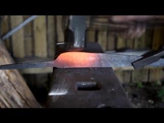 Популярное и познавательное видео Нож для суши своими руками (Making a knife for