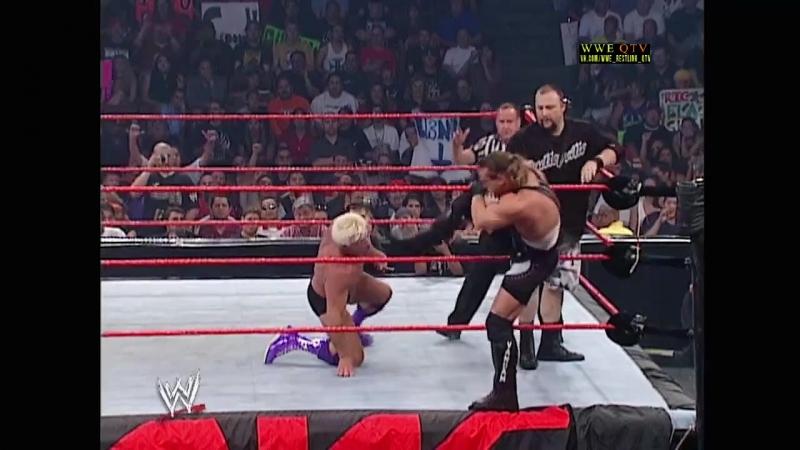 [WWE QTV]☆[WWE RAW[Фоменко]23.09.02]Bubba Ray Dudley Rob Van Dam vs Ric Flair Triple H]