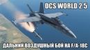 DCS World 2.5 F/A-18C Дальний воздушный бой