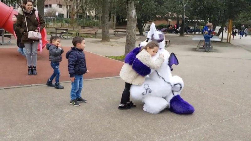 Fursuit outing in Jardin Japonais