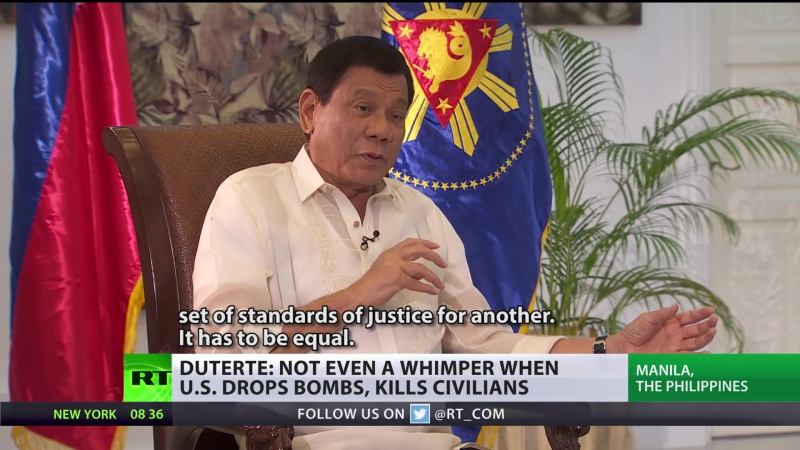 They want me to fight China. It's gonna be a massacre! - Duterte to RT. Full Interview