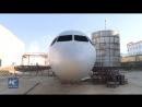 Самодельный самолет на северо-востоке Китая