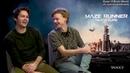 Томас Сангстер и Дилан О'Брайен интервью для Yahoo на русском