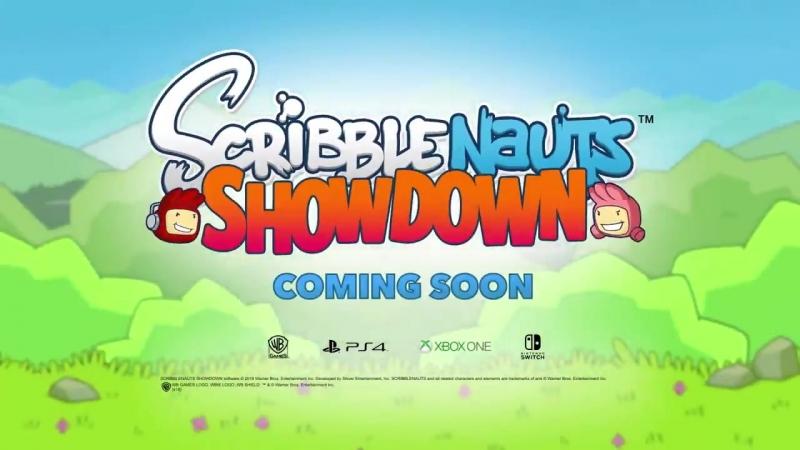 Official Scribblenauts Showdown Announce Trailer