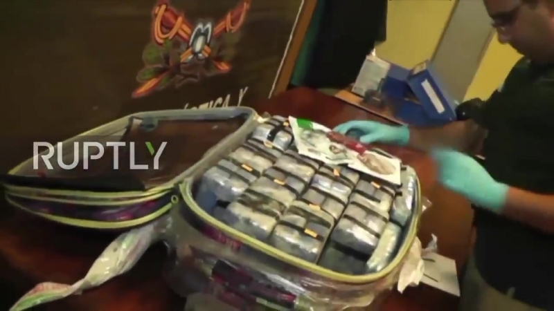 Тот самый кокаин, который изъяли в посольстве России, отправляемый как дипломатическая почта на родину