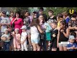 Новости UTV. Торжественное открытие фонтана на аллее Батыра в Салавате