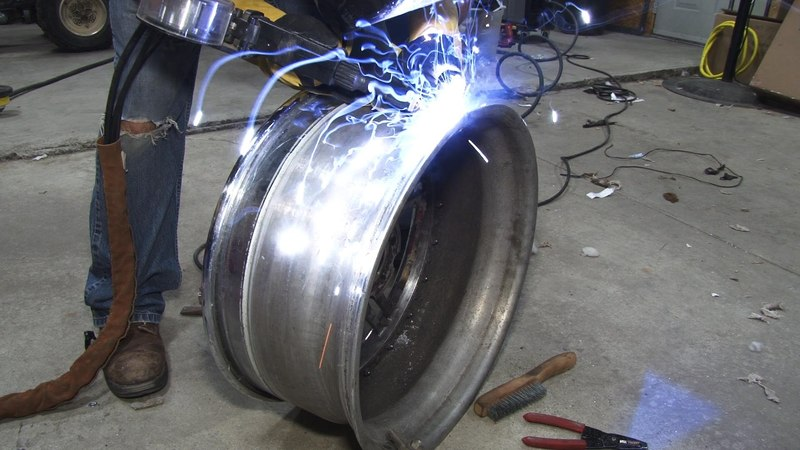 Cracked Aluminum Wheel Repair GFG