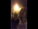 Ночная прогулка по Гагаринскаму парку - частью 2-
