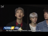 [RUS SUB][17.11.17]  BTS On Getting Compared To The Backstreet Boys One Direction @ Access Hollywood