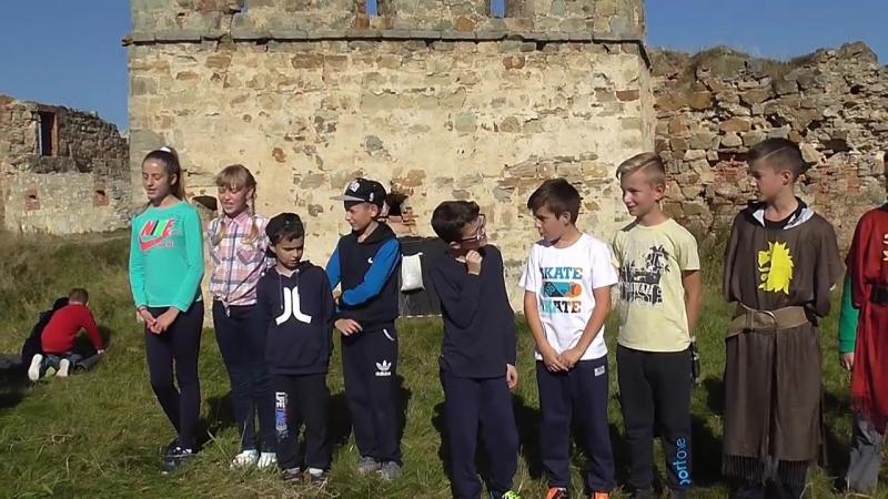 Виховний захід в 6 класі. Легенди Пнівського замку. Турнір. Частина І. Школа №3 Надвірна 2017