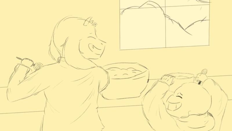 Dear Happy Undertale Animatic (Soriel)