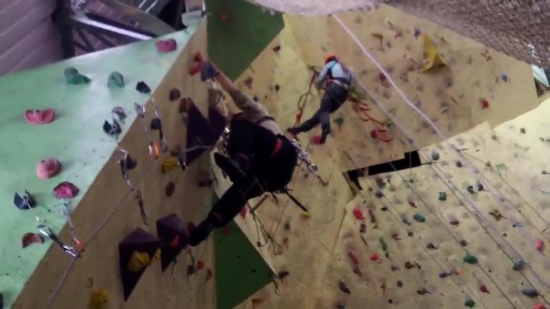 тренировка по альпинизму в ХАИ: ИТО