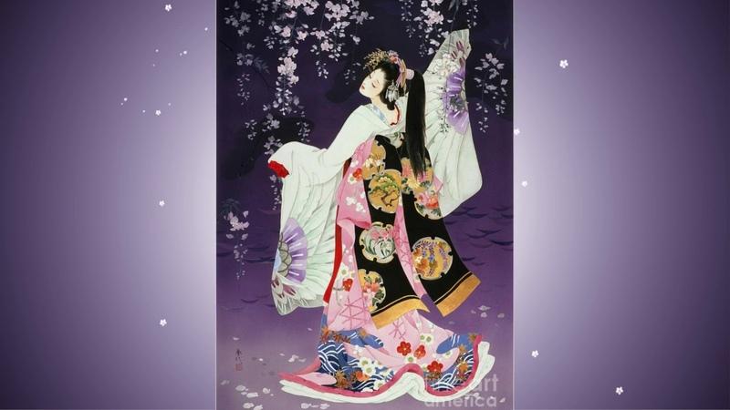 Японская художница HARUYO MORITA