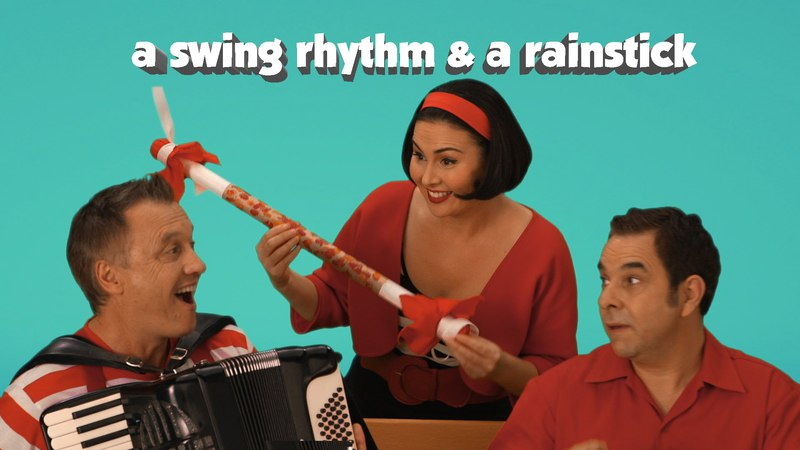 A Swing Rhythm A Rainstick Kid's music Mini Episode Lah Lah