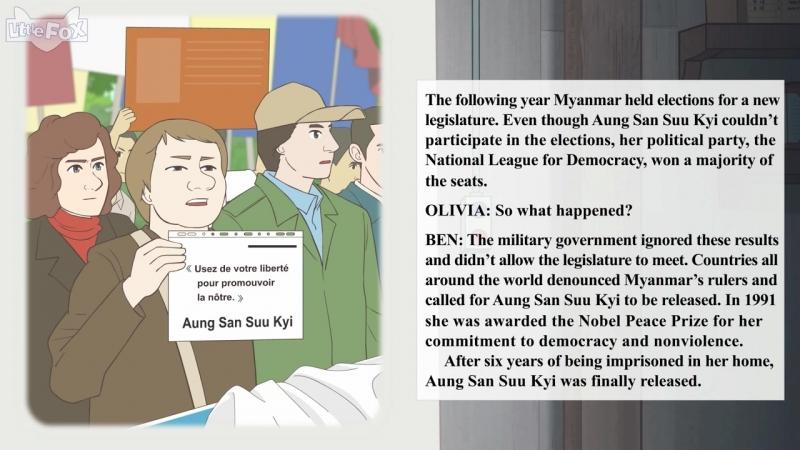 People in the News Aung San Suu Kyi