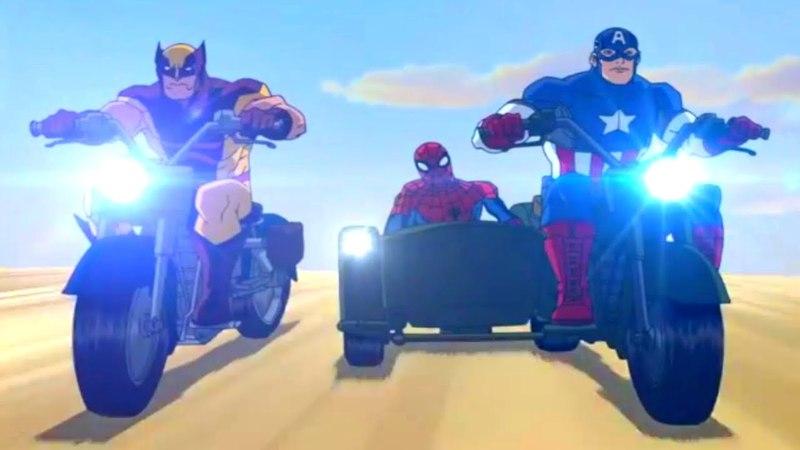 Великий Человек паук Игра закончена Сезон 2 Серия 20 Marvel