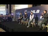 [VIDEO] 180323 Chanyeol, Sehun & Kai @ MLB Hong Kong Store Event
