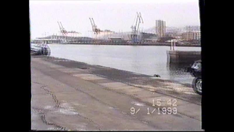 Порт Санта-Крус-де-Тенерифе после тропического урагана Флойд.
