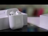 Оригинальные беспроводные наушники Apple AirPods