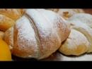 Круассаны с абрикосами. Цыганка готовит. Рогалики из слоёного теста с абрикосами. Gipsy cuisine.