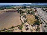 Flying over the Cantalloc Aqueducts Nazca, Peru - 4k DJI Phantom 3 pro drone